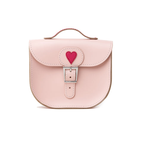 Pink With Love Leather Bag. Brit-Stitch. 100% bovine leather.