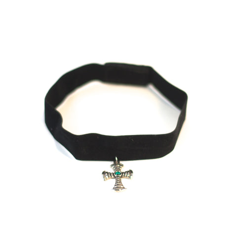 Made It Vintage Necklace - retro choker.