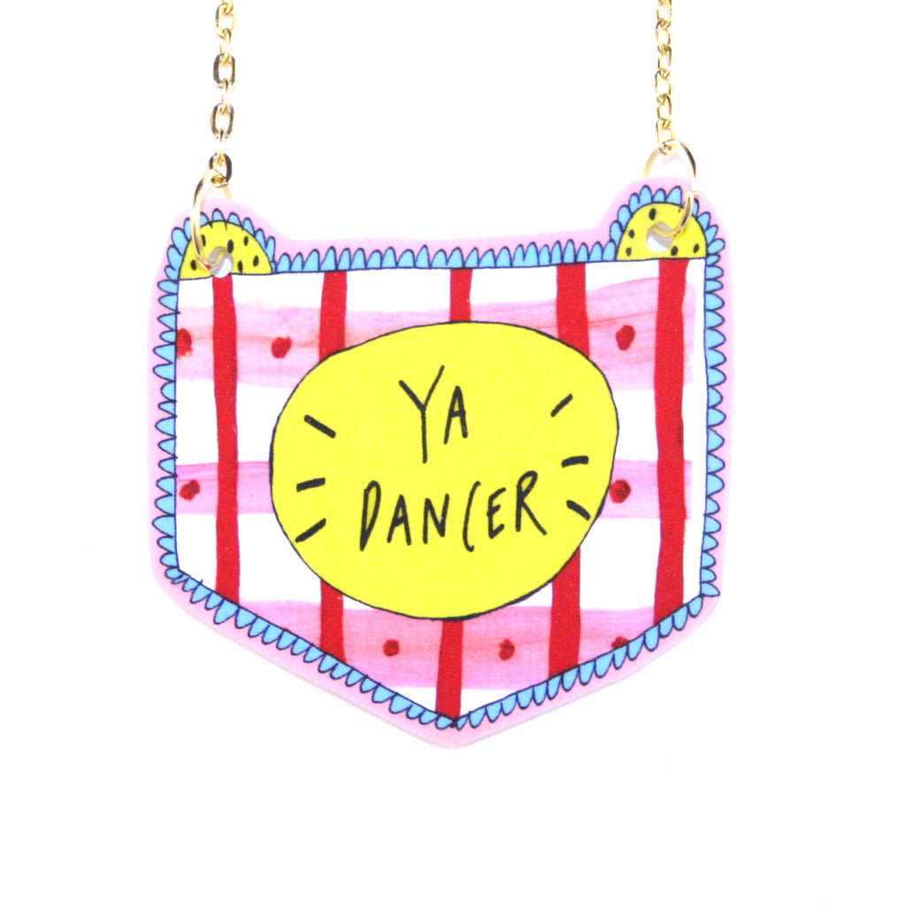 Ya Dancer Gold Necklace