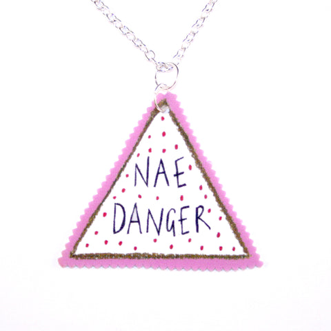 Nae Danger Silver Necklace