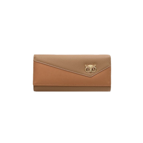 Percy Purse. Soft hues of peach and rose gold.