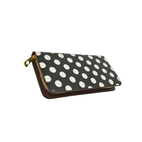 Pay Day Purse. Black polka dot purse.