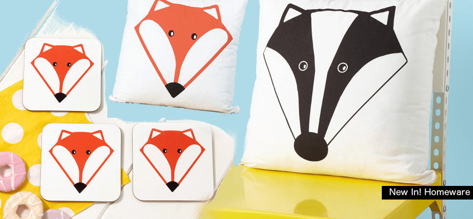 Quirky, bold and unique homeware selection