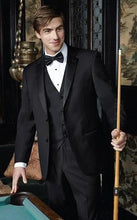 Load image into Gallery viewer, 'Identity' Black 2-Button Notch Tuxedo - Tuxedo Club