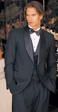 Load image into Gallery viewer, Traditional Black 2-Button Shawl Tuxedo - Tuxedo Club