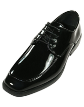 Load image into Gallery viewer, Bellagio - Gloss Black Tuxedo Shoes - Tuxedo Club