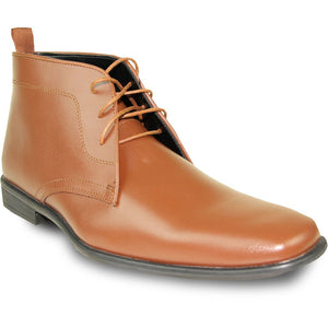 Saddle Brown' Formal Dress Boot - Tuxedo Club