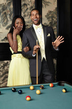 Load image into Gallery viewer, 'Heritage' Black Luxury 2-Button Notch Tuxedo - Tuxedo Club