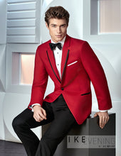 Load image into Gallery viewer, 'Stingray' Red 1-Button Notch Tuxedo - Tuxedo Club