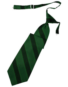 Hunter Venetian Stripe Long Tie - Tuxedo Club
