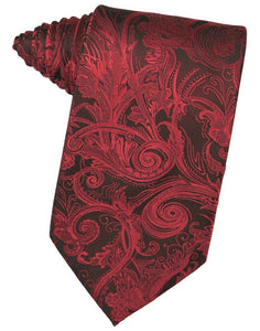 Apple Tapestry Suit Tie - Tuxedo Club