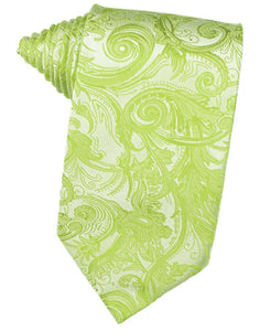 Lime Tapestry Suit Tie - Tuxedo Club