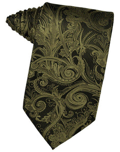 Moss Tapestry Suit Tie - Tuxedo Club