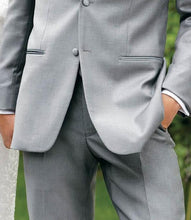 Load image into Gallery viewer, 'Madison' Grey Tuxedo Pants - Tuxedo Club