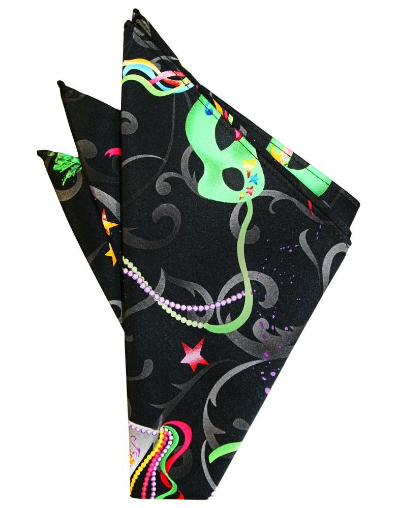 Mardi Gras Pocket Square - Tuxedo Club