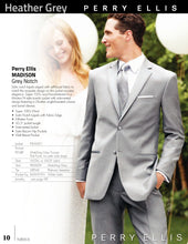 Load image into Gallery viewer, 'Madison' Grey 2-Button Notch Tuxedo - Tuxedo Club