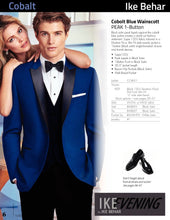 Load image into Gallery viewer, 'Wainscott' Royal Blue 1-Button Peak Tuxedo - Tuxedo Club