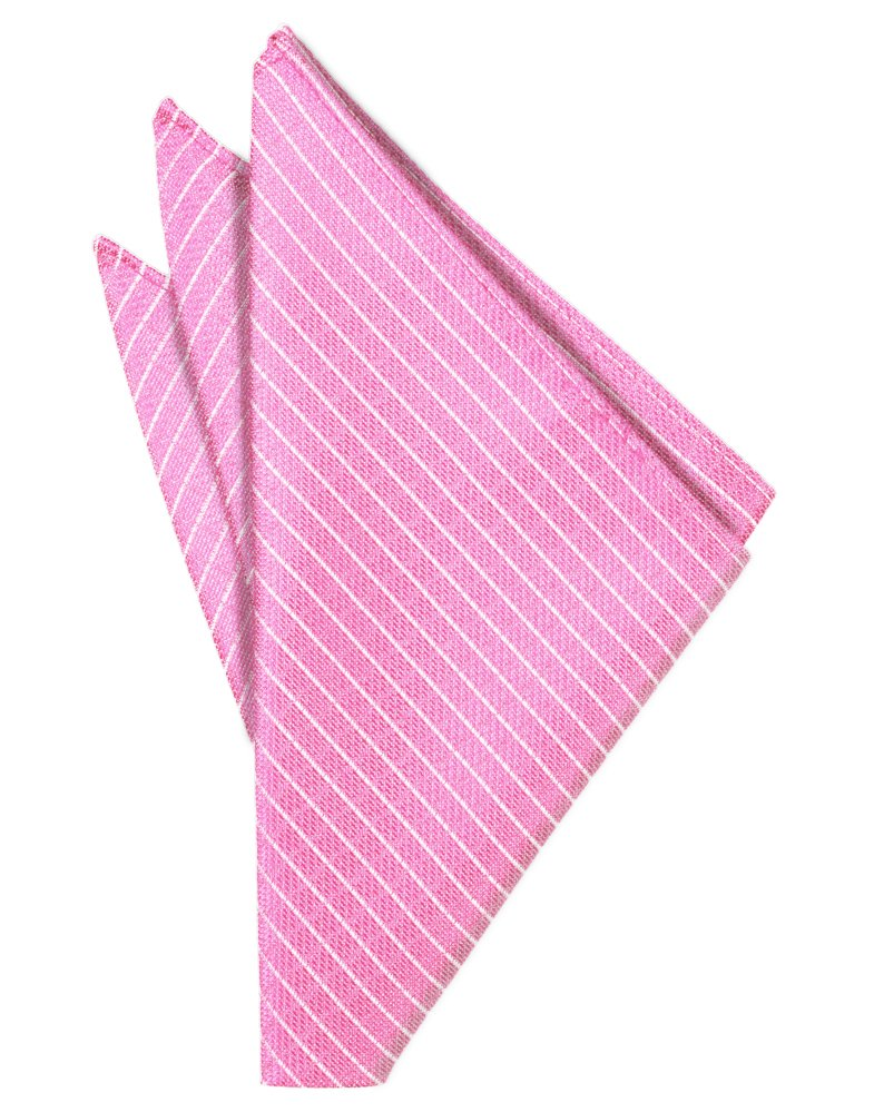 Bubblegum Palermo Pocket Square - Tuxedo Club
