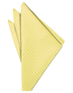 Buttercup Palermo Pocket Square - Tuxedo Club