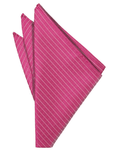 Fuchsia Palermo Pocket Square - Tuxedo Club