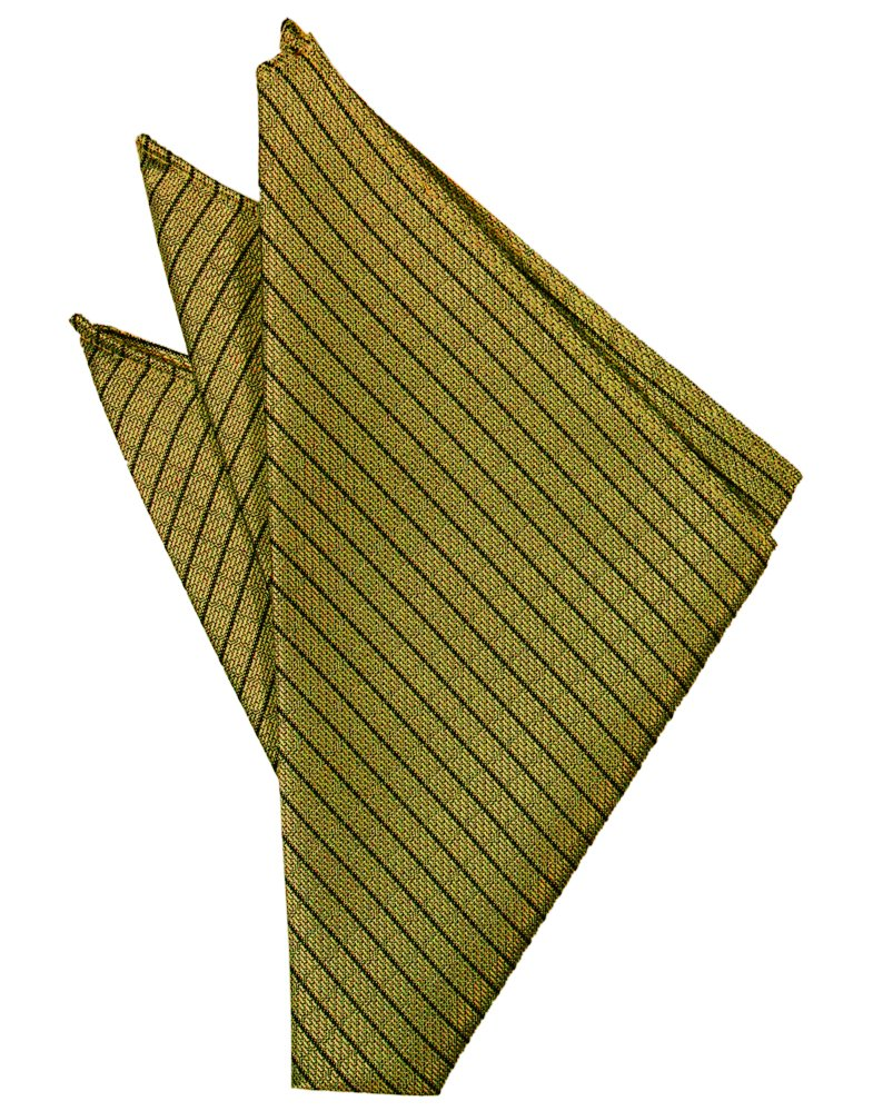 Gold Palermo Pocket Square - Tuxedo Club