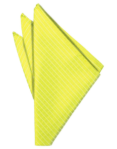 Lemon Palermo Pocket Square - Tuxedo Club