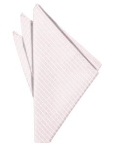 Pink Palermo Pocket Square - Tuxedo Club