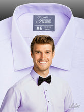 Load image into Gallery viewer, SLIMFIT Laydown Lilac Tuxedo Shirt - Tuxedo Club