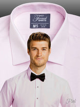 Load image into Gallery viewer, SLIMFIT Laydown Pink Tuxedo Shirt - Tuxedo Club