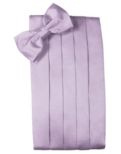 Heather Solid Satin Cummerbund - Tuxedo Club
