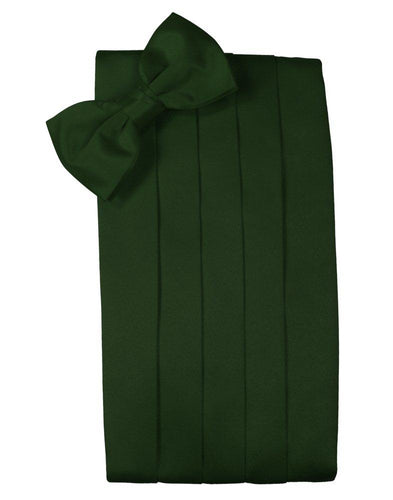 Holly Solid Satin Cummerbund - Tuxedo Club