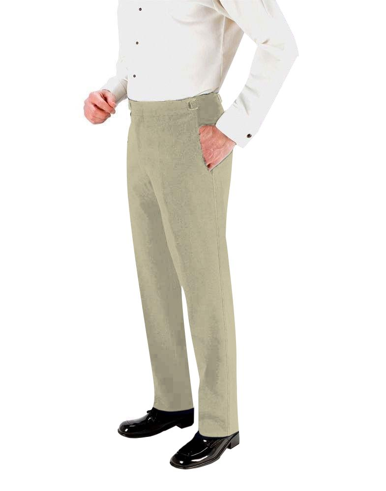 Tan Super 150's Skinny-Fit Suit Pants - Tuxedo Club