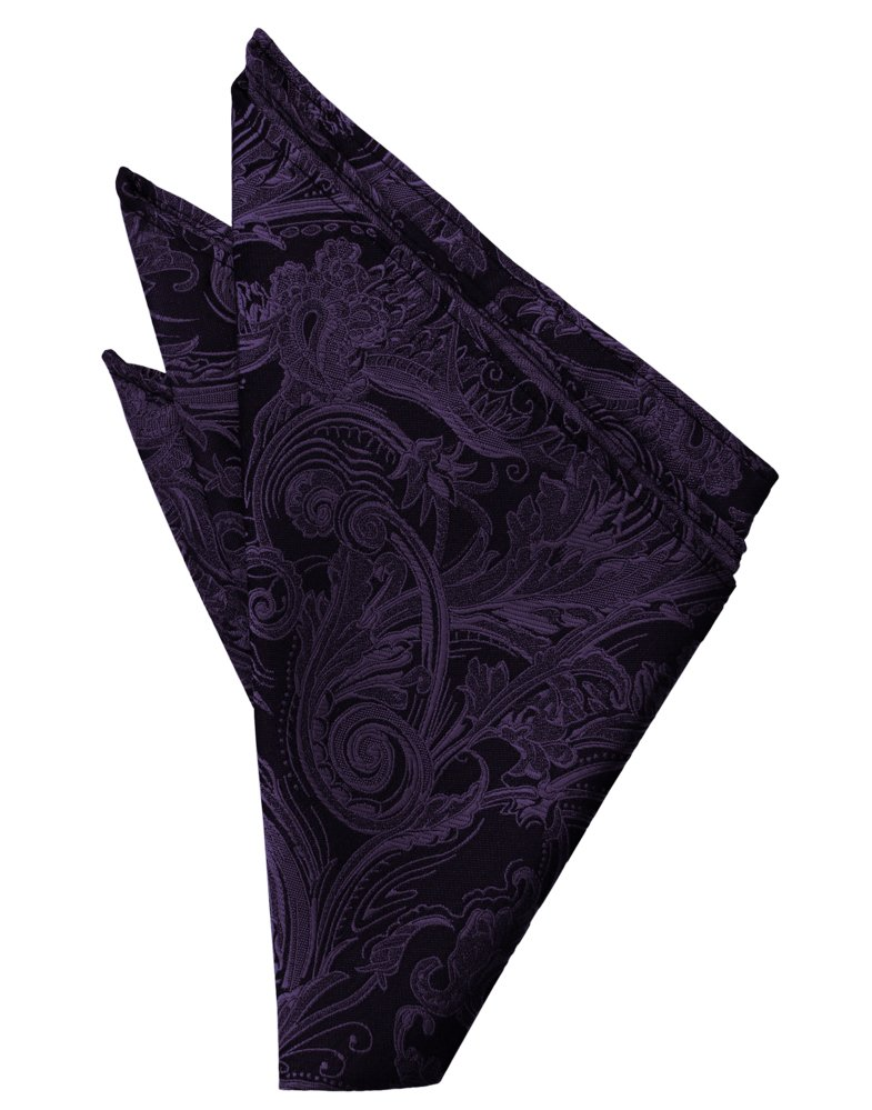 Berry Tapestry Pocket Square - Tuxedo Club