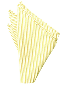 Buttercup Venetian Pocket Square - Tuxedo Club