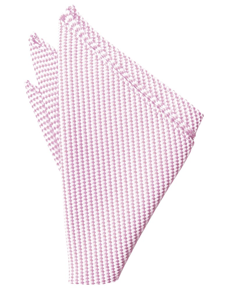 Pink Venetian Pocket Square - Tuxedo Club