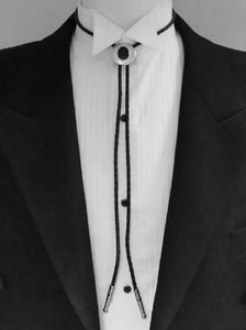 'Sunset' Formal Western Bolo Tie - Tuxedo Club
