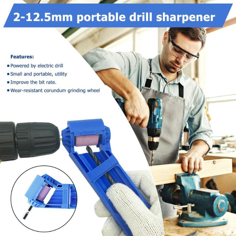 2-12.5mm Portable Drill Bit Sharpener