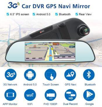 Car DVR mirror HD 1080P driving recorder (Free shipping worldwide)