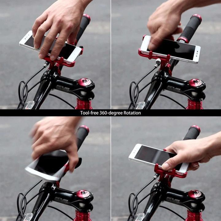 Aluminum Universal Bicycle Phone Holder