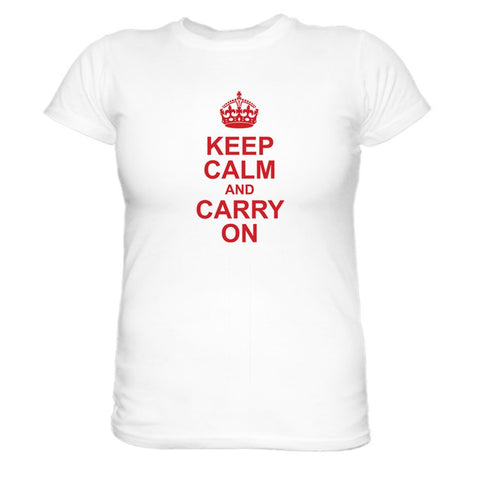 Keep Calm Carry On Tee