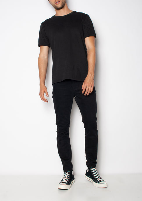 SKINNY CROP JEAN - BLACK