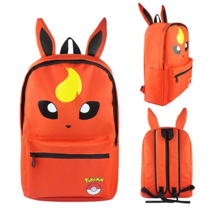 mochila do Flareon - pokemon