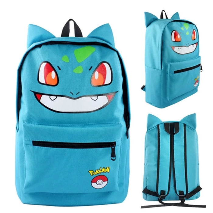 mochila do Bulbasaur - pokemon