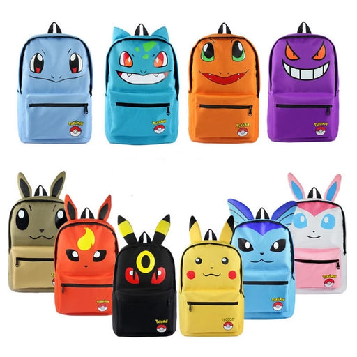 Mochilas do Pokémon
