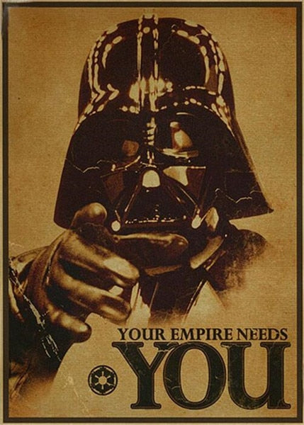 Poster - Star Wars - Reino Geek