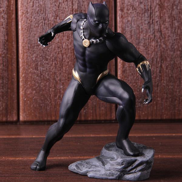 Action Figure - Pantera Negra - Reino Geek