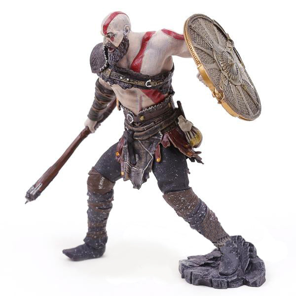 Action Figure - Kratos - God of War 4 - Reino Geek