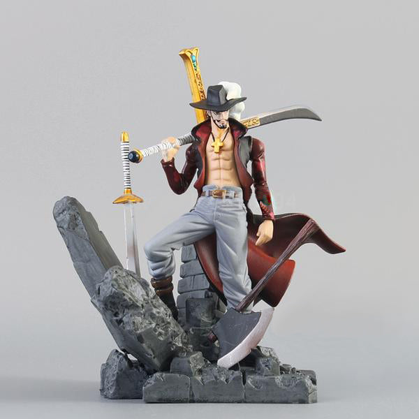 Action Figure - Dracule Mihawk - One Piece - Reino Geek