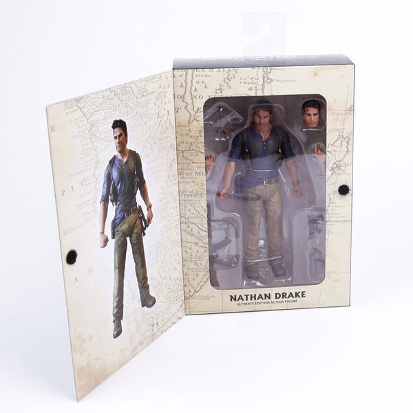 Action Figure - Nathan Drake - Uncharted 4 - Reino Geek