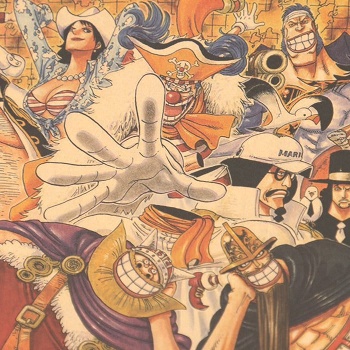 Poster - One Piece - Reino Geek